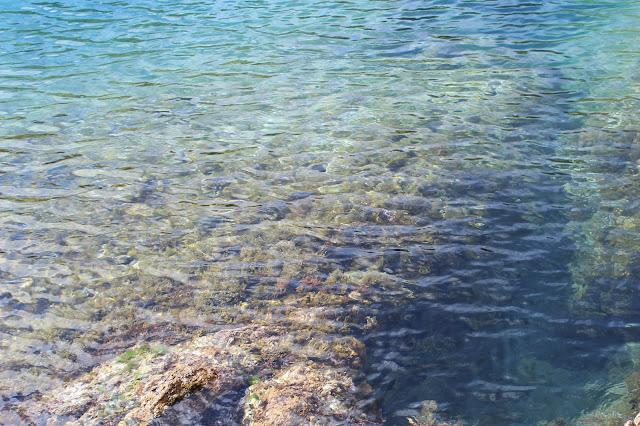 Aguas del mar Mediterráneo, Costa Brava