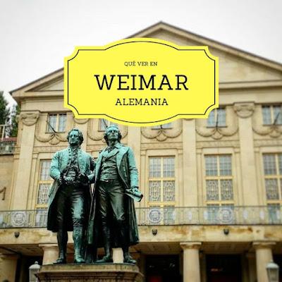 Qué ver en Weimar, Alemania