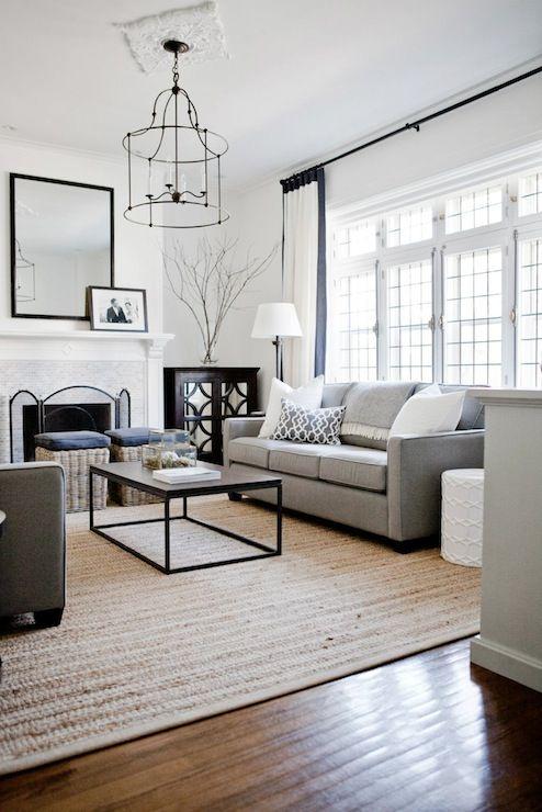 Decoração de sala de estar classica