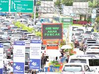 Atasi Kemacetan, Polisi Terapkan Satu Arah di Jalur Puncak