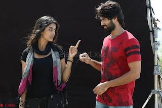 Pooja Jhaveri romancing Vijay Devarakonda in movie Dwaraka (14).jpg