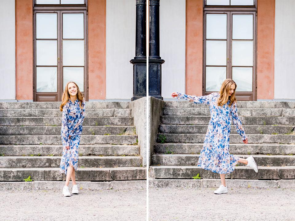 chunky-sneakers-floral-maxi-dress-outfit-fashion-blogger-scandinavia-streetstyle-lenkkarit-kukkamekko-muotibloggaaja