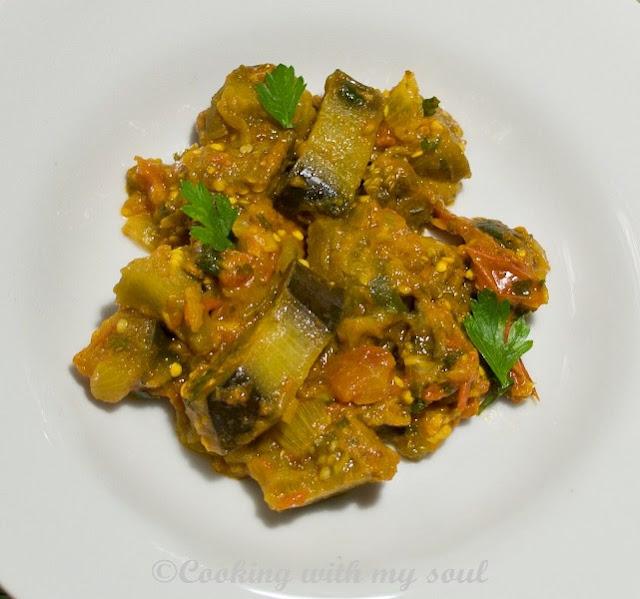 Curry de vinete