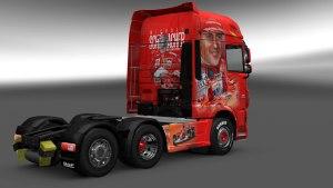 Michael Schumacher DAF Euro 6 skin mod