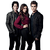 PNG Diário de um Vampiro (The Vampire Diaries, Elena Gilbert, Damon Salvatore, Stefan Salvatore)