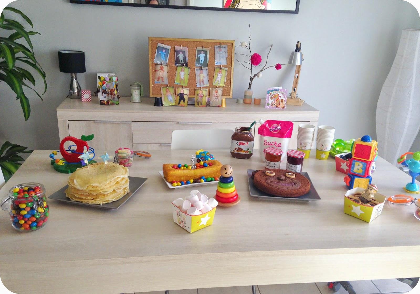 buffet d'anniversaire goûter bébé enfant jouets toys