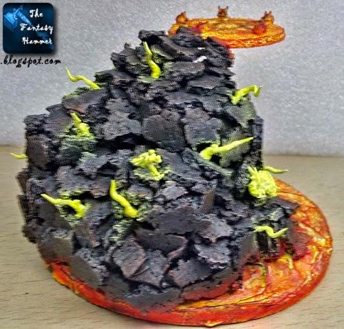 Diorama Lava Base WiP4c