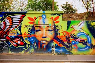 Sunday Street Art : Marko 93 - rue de l'Ourcq - Paris 19