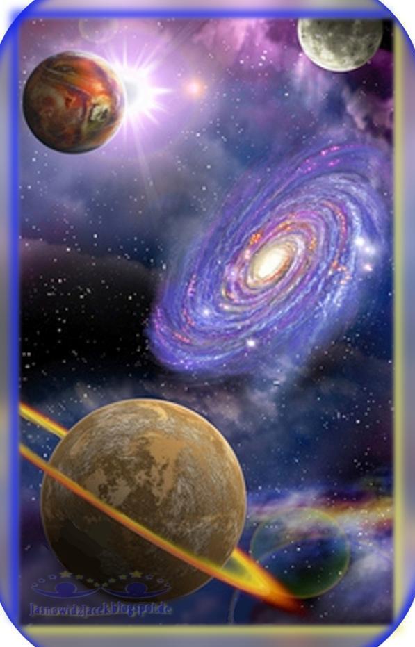 Piękno wszechświata - Droga mleczna - Galaktyka spiralna - DuchowyUzdrowiciel Berlin