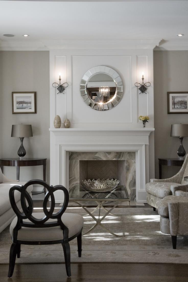 El blog de demarques 10 calidos salones con chimenea for Salones con chimenea