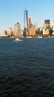 Manhattan from Staten Island Ferry.
