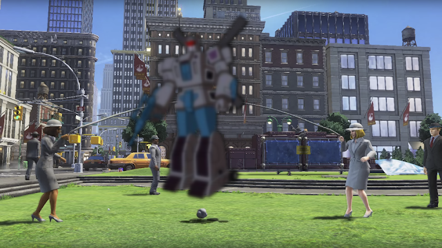Vortex Decepticon Super Mario Odyssey New Donk City jump rope