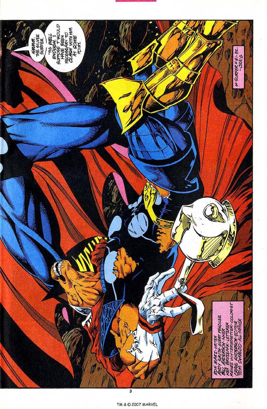 Read online Silver Surfer (1987) comic -  Issue #86 - 5
