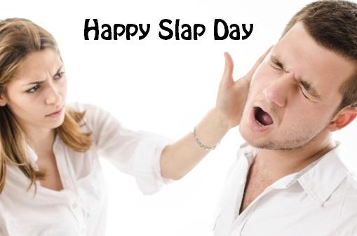 Slap Day Good Morning Whatsapp Status DP