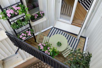 vista de un balcón