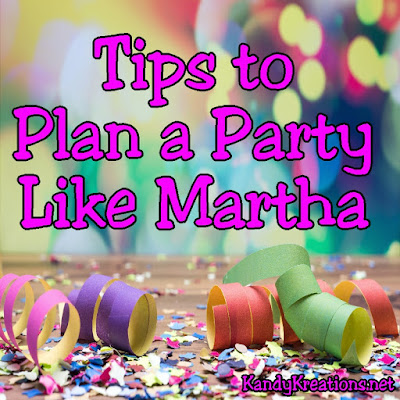 "Use these tips, tricks, and resources to plan a party that would make Martha Stewart proud.  It's not as hard as you think when you rely on the expertise of those around you.  Check out these ideas to take your party from ""fun"" to ""spectacular."""