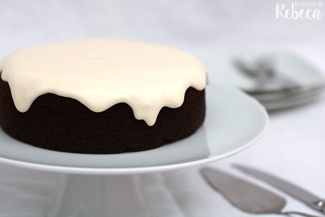 Tarta de chocolate y cerveza negra (o Guinness stout chocolate cake)