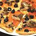 Pizza caprichosa con Thermomix