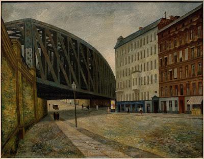 Gustav Wunderwald Pont sur Ackerstrasse 1927