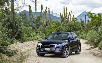 2018 audi q5 blue widescreen resolution hd wallpaper