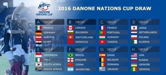 Le Maroc participe à la Danone Nations Cup à Paris en tant que champion en titre.