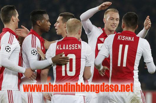 Ajax Amsterdam vs Willem II www.nhandinhbongdaso.net