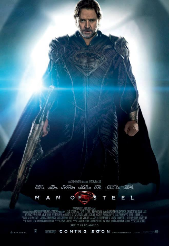 Jor-El Man of Steel Character Poster