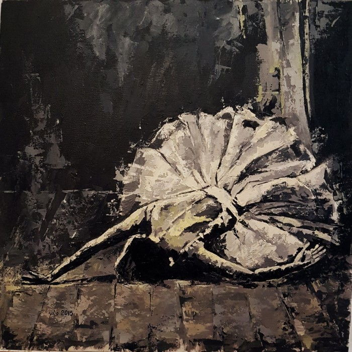 Румынский художник. Violeta Oprea