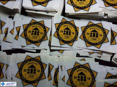 Subdivision Stickers - Southville, Binan, Laguna