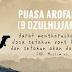 Keutamaan Puasa Arafah 9 Dzulhijjah