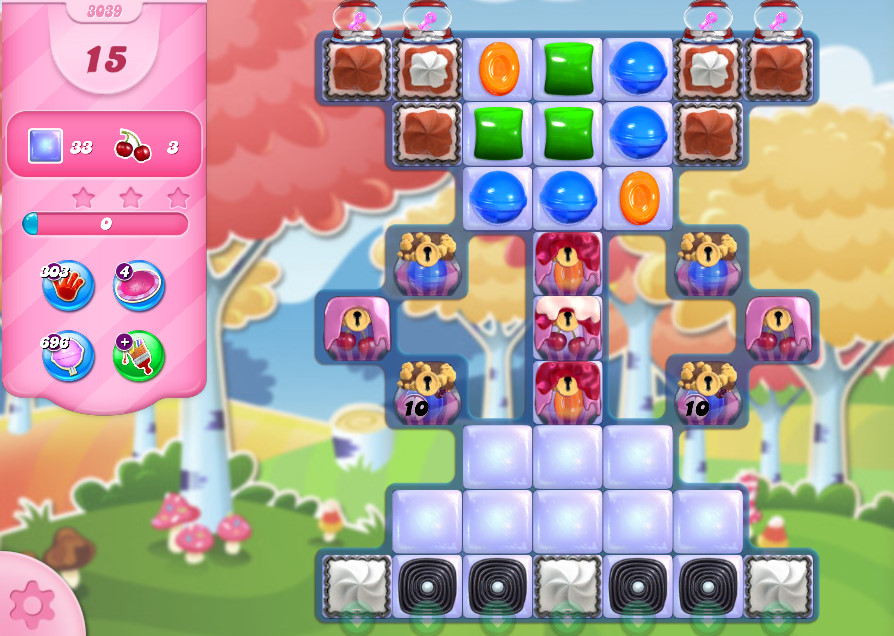 Candy Crush Saga level 3039
