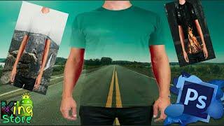 صمم صورك بقميص شفاف بسهولة | #فوتوشوب_1