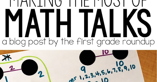 How To Make the Most of a Math Talk