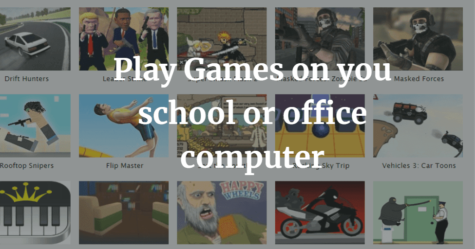 Top 10 sites to play Unblocked games 99