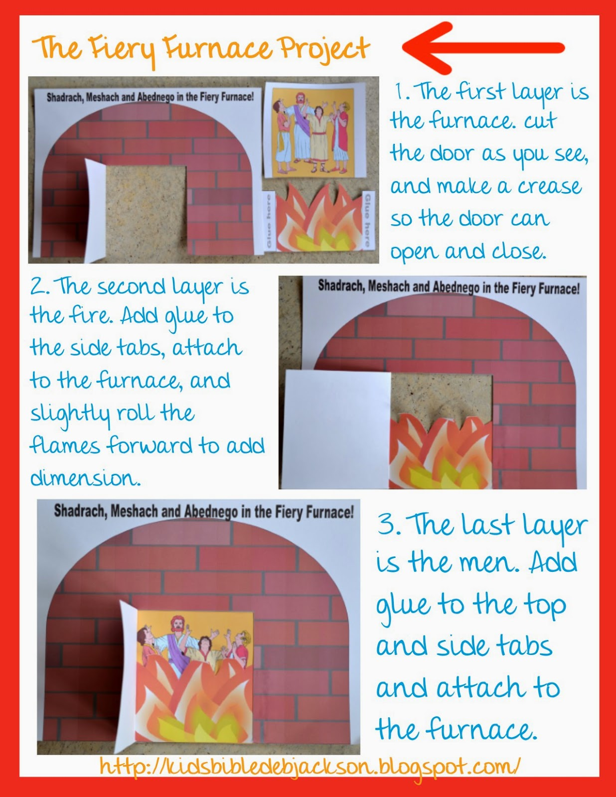 Bible Fun For Kids Shadrach Meshach And Abednego Amp The Fiery Furnace