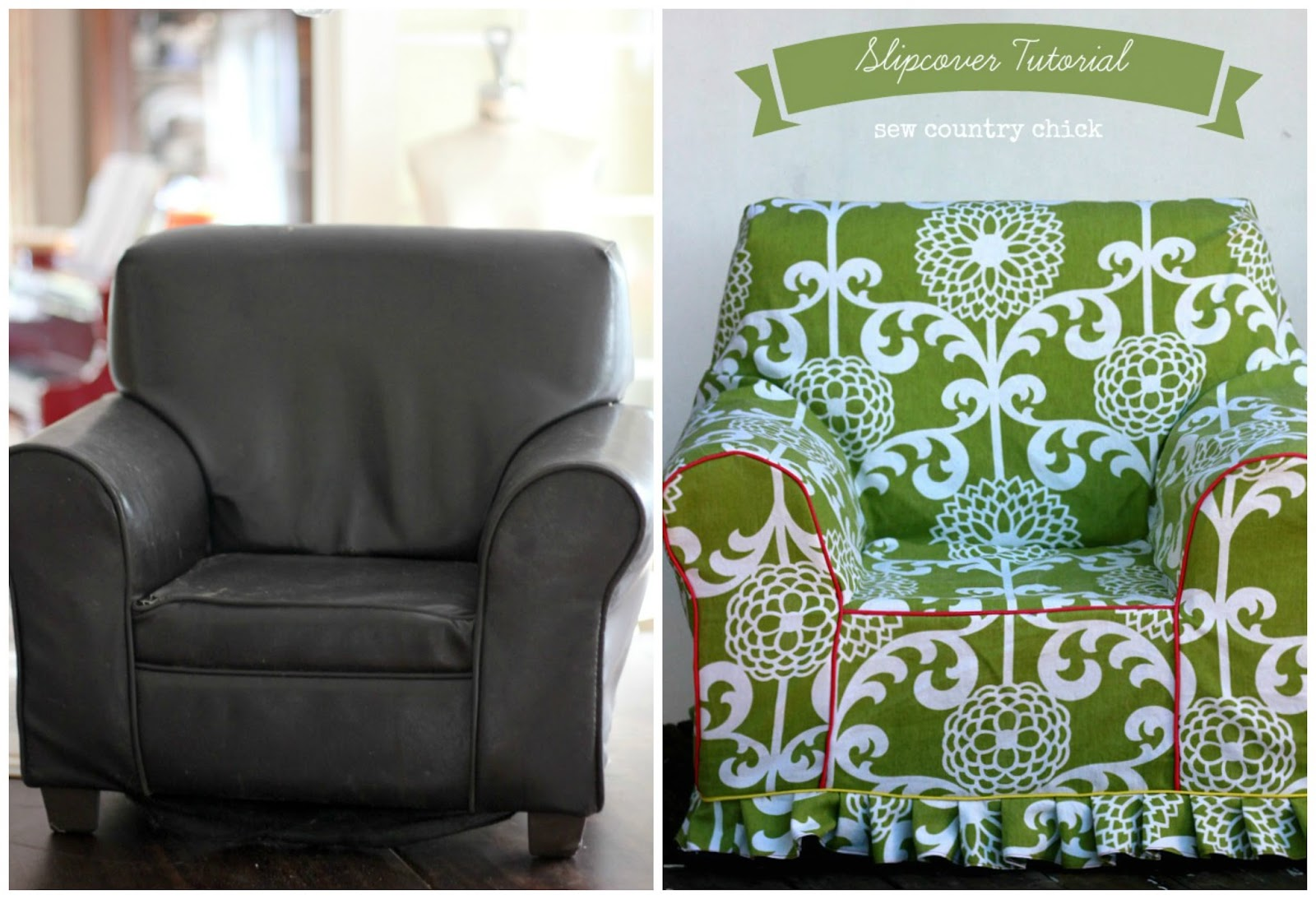 Armchair Cover Diy Swivel Chair Cuddle Slipcover Tutorial