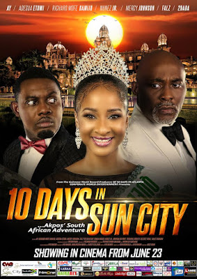 Comedian AY's '10 Days In Sun City' Hits Cinemas across Nigeria from June 23