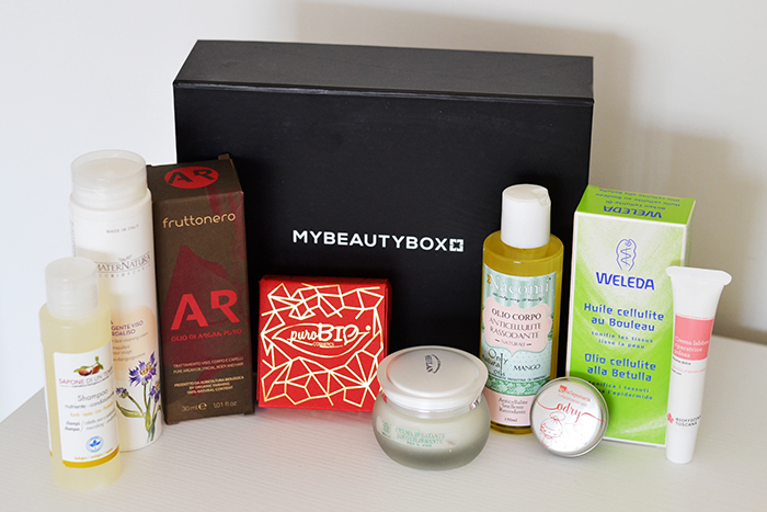 my beauty box bellezza al naturale