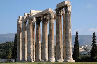 5. Temple of Olympian Zeus