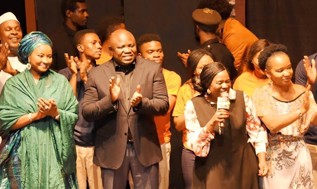 Governor Ambode unveils plans to build five new arts theatres.