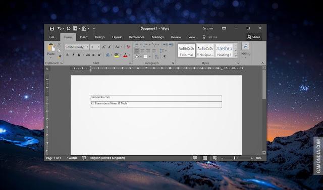 Cara Menghilangkan Kolom Text Bounder Microsoft Word