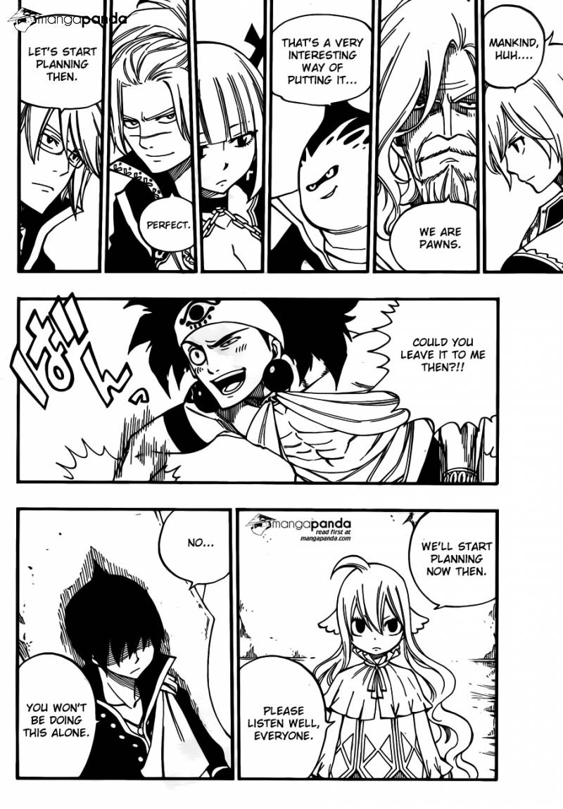 Fairy Tail Ch 452: The Prelude To The Final Battle