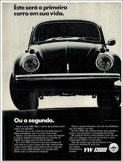 Propaganda Volkswagen 1300 - 1970, , vw anos 70, carros Volkswagen década de 70, anos 70; carro antigo Volks, fusca 1970, década de 70, Oswaldo Hernandez,