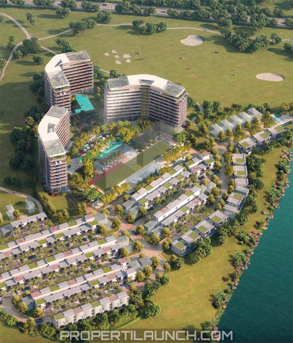 The Nove Nuvasa Bay Batam 3D View