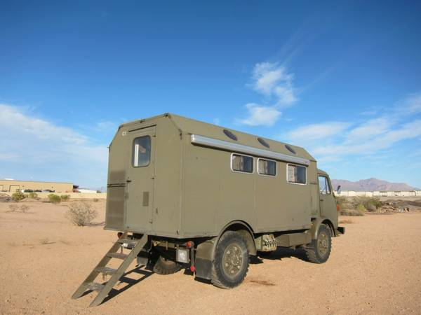 Steyr Puch 4x4 Expedition RV - RV & Camper