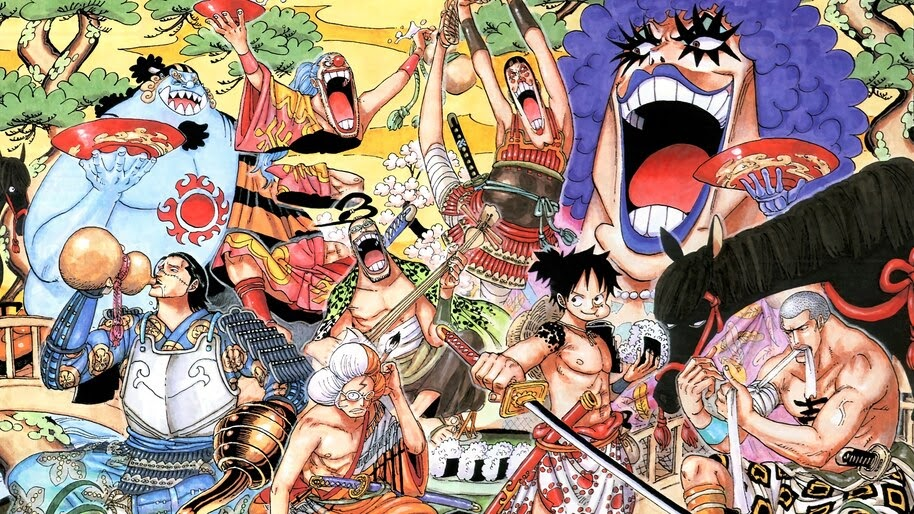 One Piece, Anime, Characters, 4K, #6.125