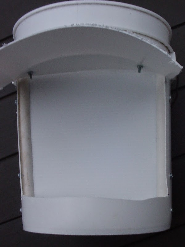 Five Gallon Bucket Chicken Feeder - front view