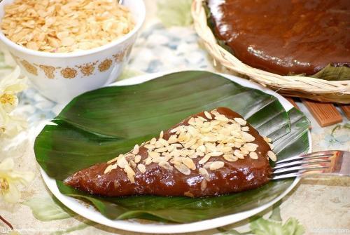 Kalamay With Pinipig Topping Recipe