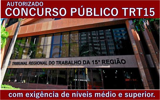 Apostila TRT 15 Região Campinas Técnico Judiciário