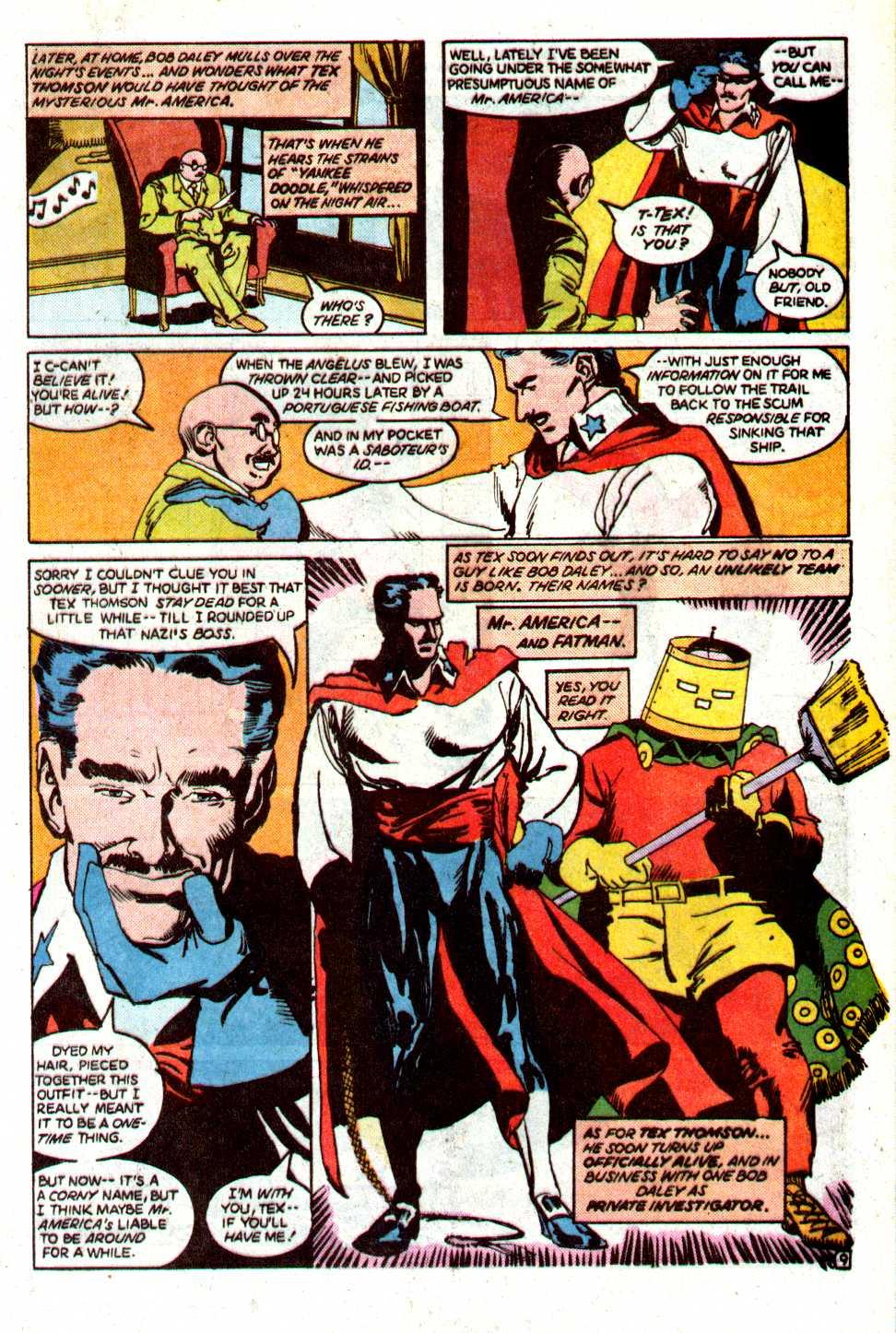 Read online Secret Origins (1986) comic -  Issue #29 - 33
